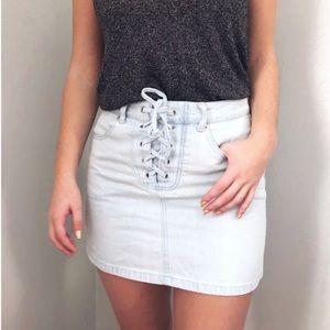 Forever 21 jean skirt size 27